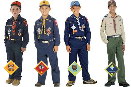 Tiger Scouts Patch Placement